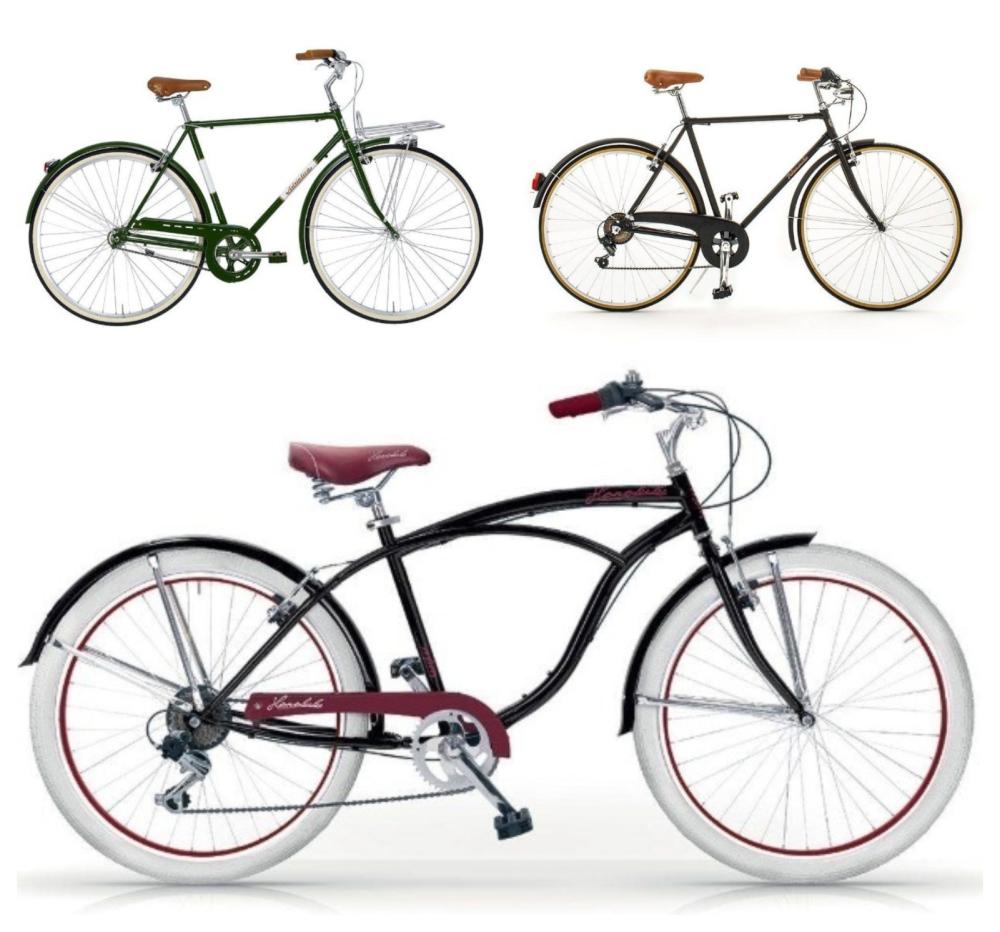 biciclette vintage da uomo in fabbrica made in italy