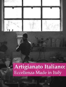 l'artigianato italiano