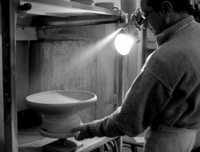 laboratorio di ceramiche artigianali