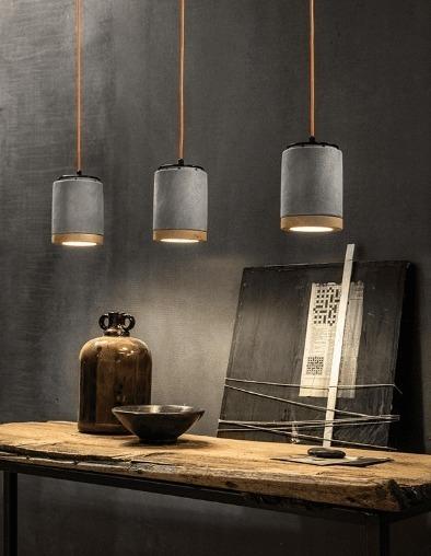 lampada a sospensione handmade in Italy
