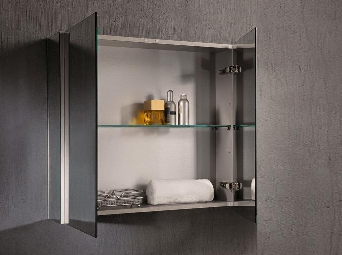 specchio moderno contenitore