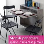 Arredare una casa piccola: mobili che moltiplicano lo spazio