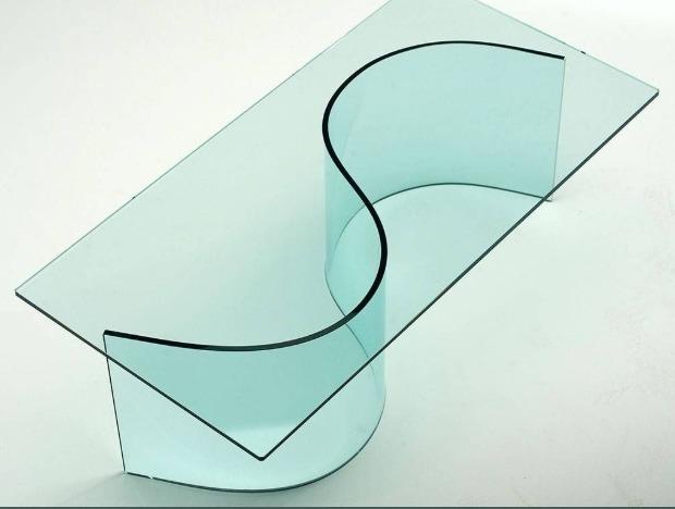 tavoli artigianali vetro