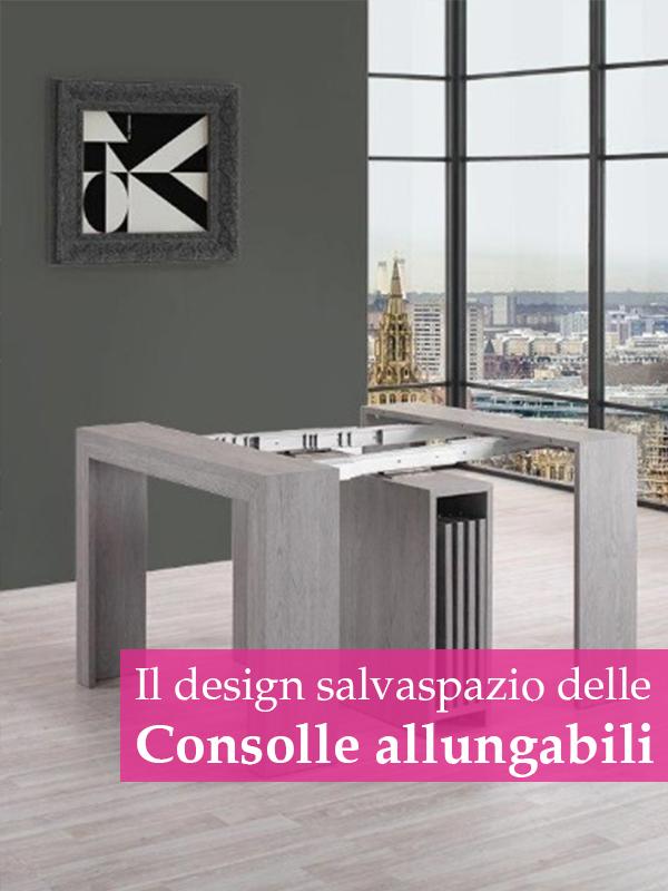 tavoli consolle allungabili