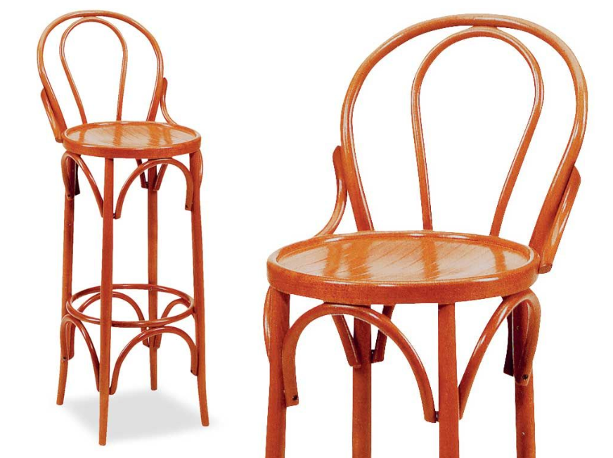 thonet sgabello design