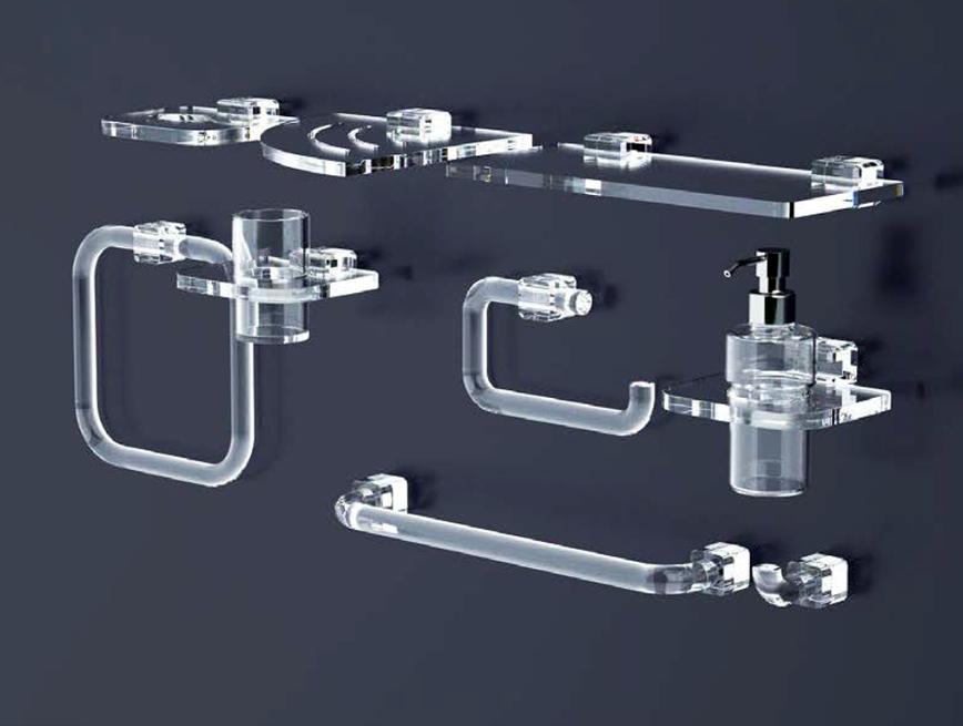 accessori bagno plexiglas