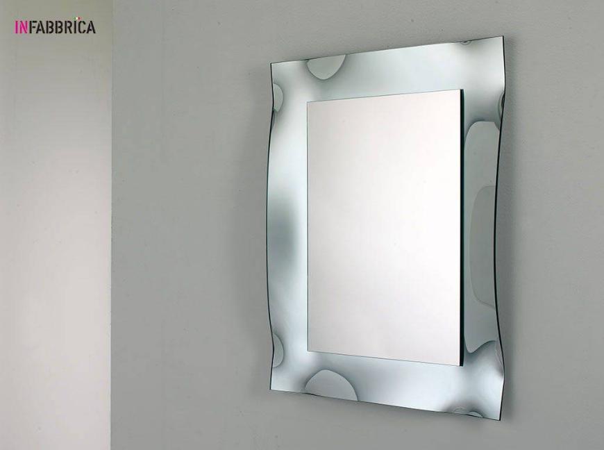 specchio vetro curvato