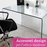 Gli accessori di design per un ufficio moderno