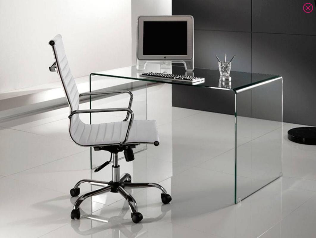 scrivania vetro bend