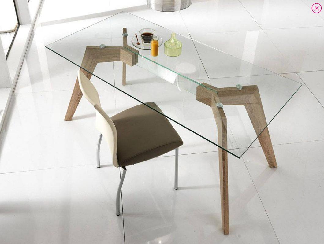 tavolo vetro rettangolare
