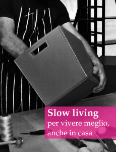 design slow living