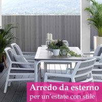 giardino arredo esterno estate