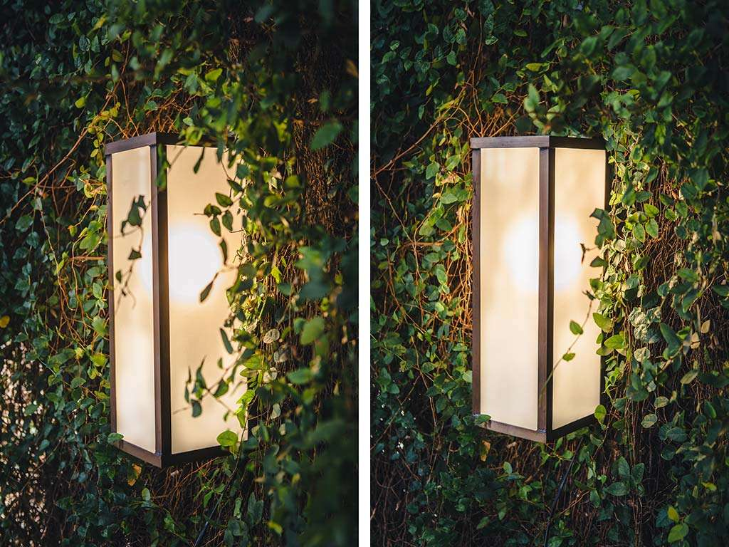 lampada esterno parete