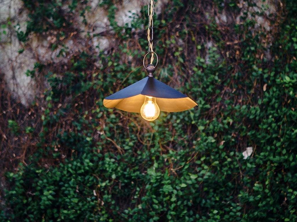 lampada da esterno vintage