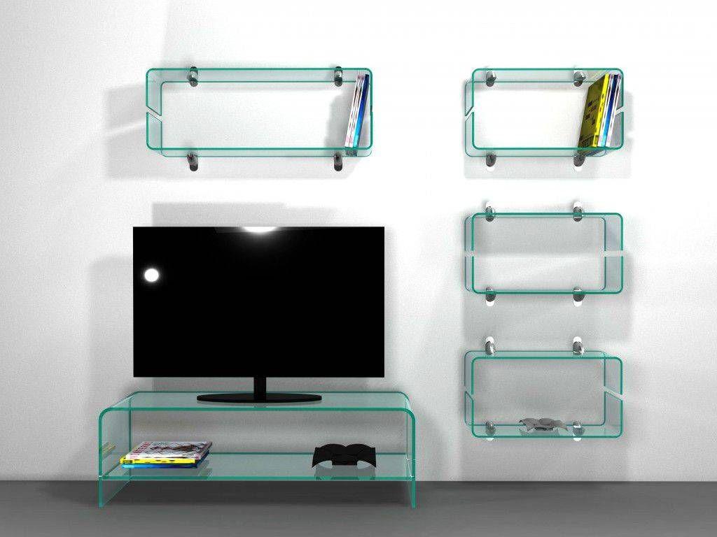 porta-tv-vetro-curvato-con ripiano