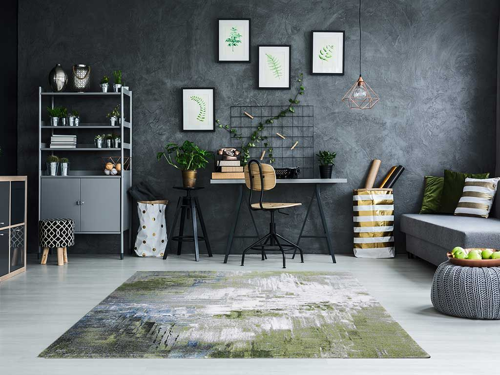 tappeto di design per salotto