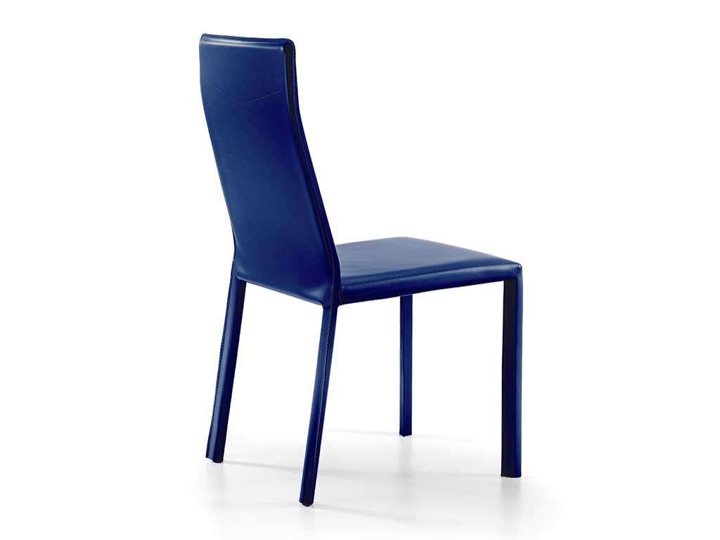 sedia moderna in cuoio