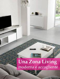arredamento zona living moderna