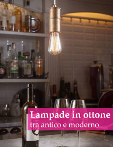 lampade in ottone made in italy