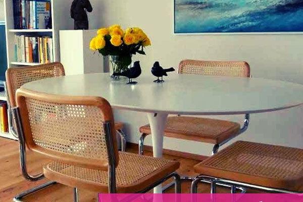 tavolo rotondo di design