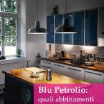Blu petrolio: gli abbinamenti migliori per una casa moderna e raffinata