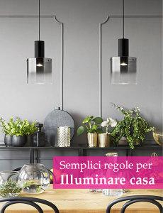 progettare illuminazione casa