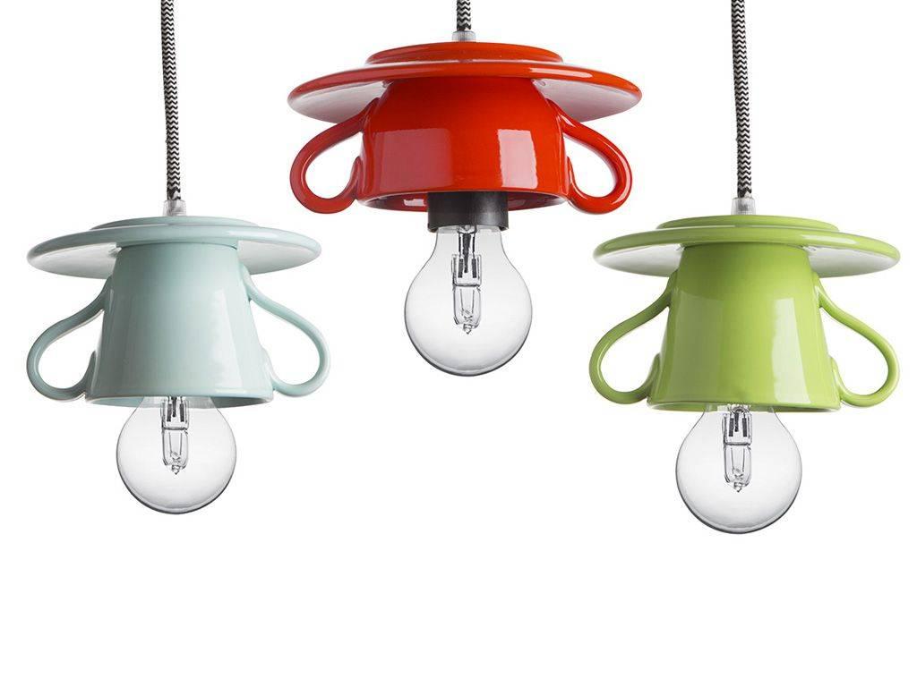lampada sospensione in ceramica