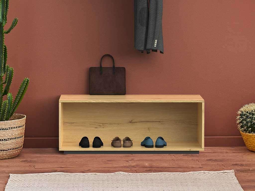 mobile scarpiera in legno