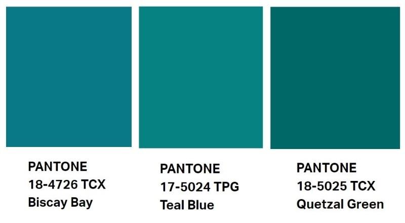 blu petrolio pantone