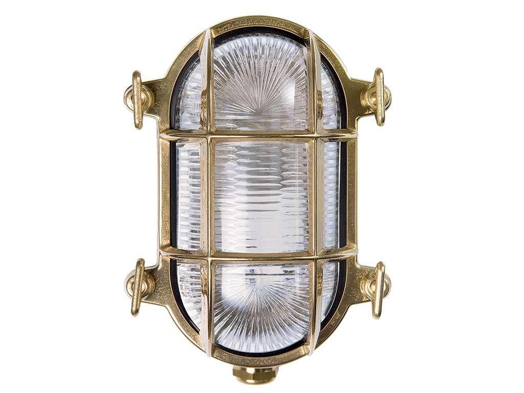 lampada da parete stile navale