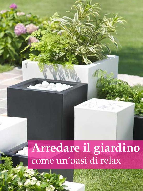 Arredare il giardino per creare un perfetto angolo di relax