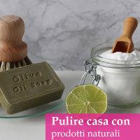 disinfettare casa con prodotti naturali