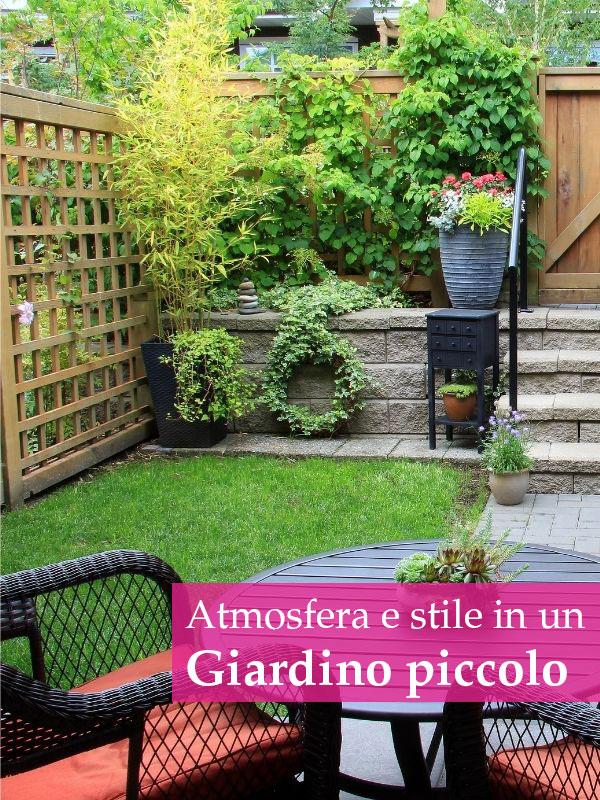 Come arredare un giardino piccolo con stile e senza rinunce