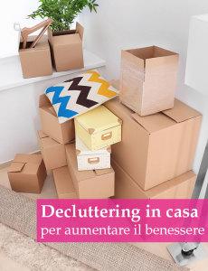 scatoloni per eliminare gli oggetti inutili in casa